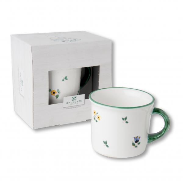 Gmundner Keramik Streublumen Kaffeehäferl 0.24 L