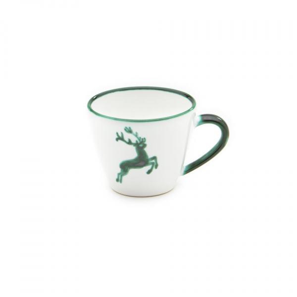 Gmundner Keramik Grüner Hirsch Kaffeetasse Gourmet 0.2L