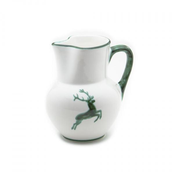 Gmundner Keramik Grüner Hirsch Krug Wiener Form (1L)