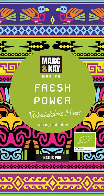 Marc & Kay Trinkschokolade 25 gr Fresh Power