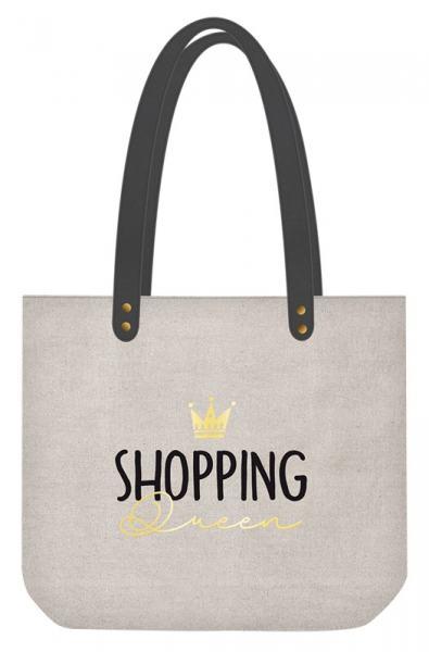 Grafik Werkstatt Shopper Shopping Queen