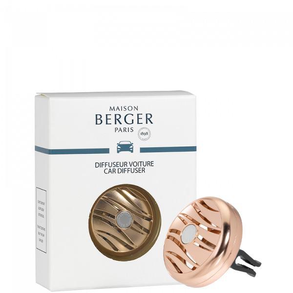Maison Berger Autoduft Blissful - Rosengold (nur Halterung)