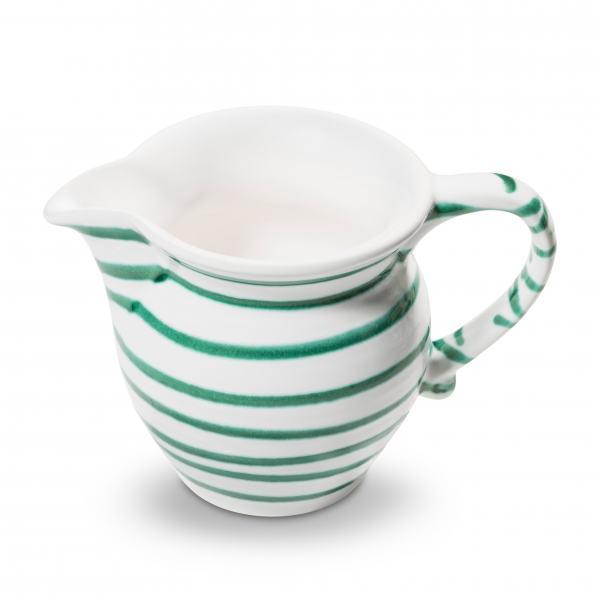 Gmundner Keramik Grüngeflammt Milchgießer glatt 0.3L