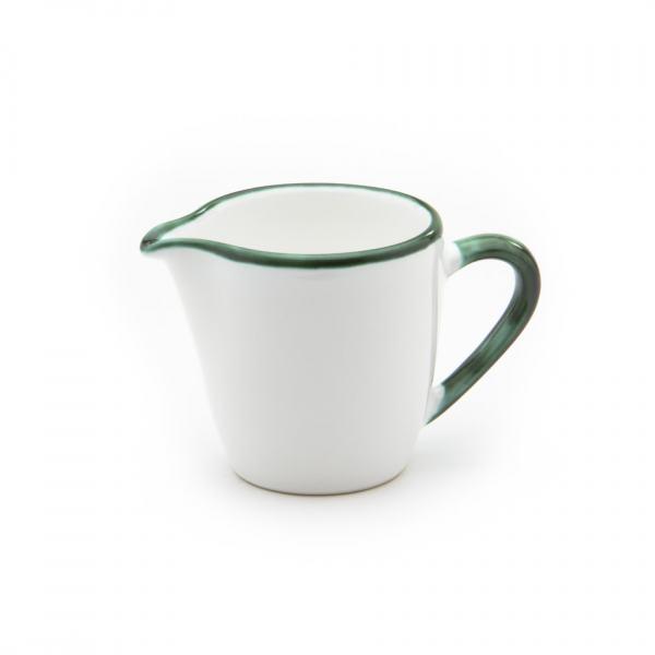 Gmundner Keramik Grüner Rand Milchgießer Gourmet (0.2L)