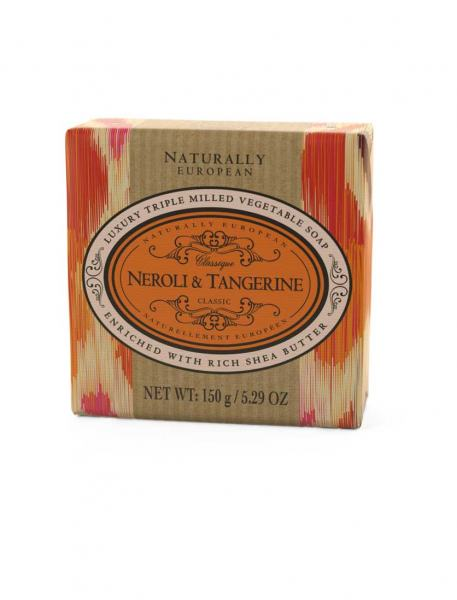 Naturally European Neroli Tangerine Soap 150g