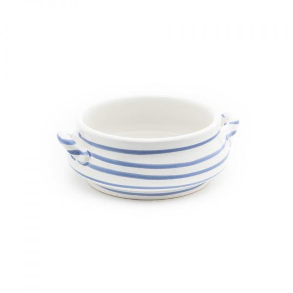 Gmundner Keramik Blaugeflammt Suppenschale 0.37L