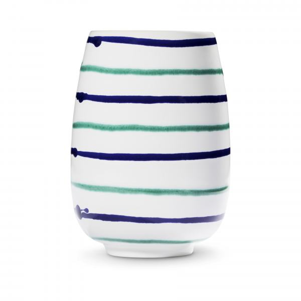 Gmundner Keramik Traunsee Vase H: 11cm