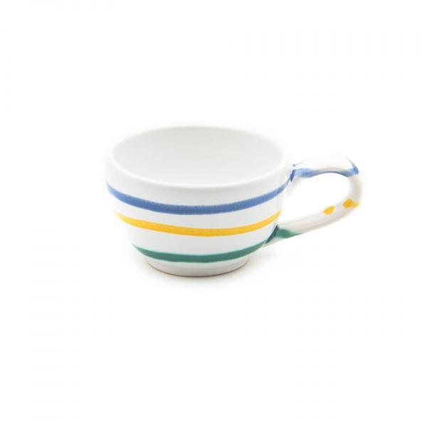 Gmundner Keramik Buntgeflammt Mokkatasse glatt (0.06L)