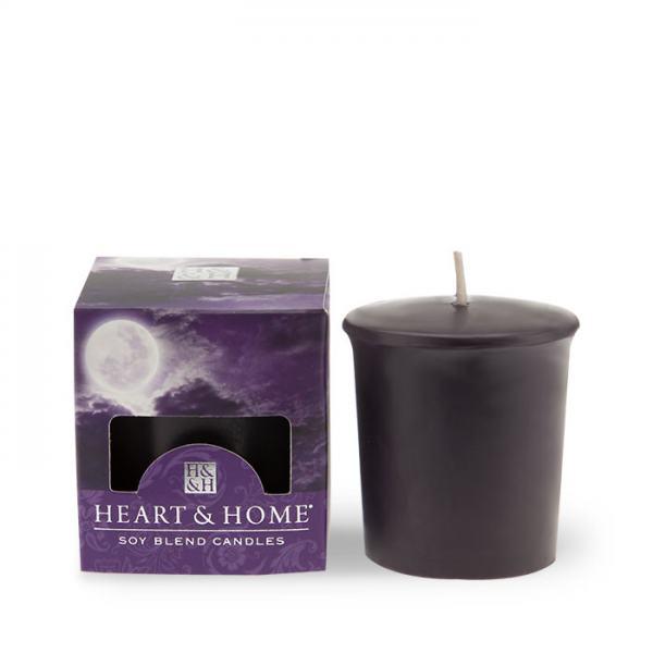 Heart and Home Duftkerze Votiv Violet Moonset 52g