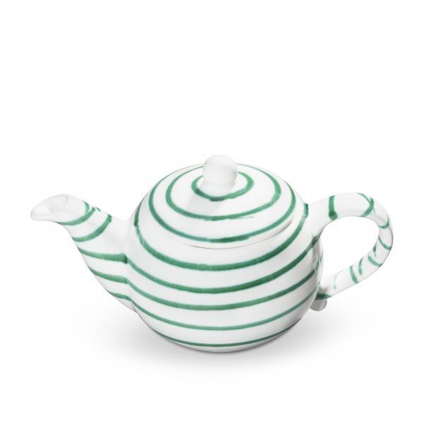 Gmundner Keramik Grüngeflammt Teekanne glatt 0,5L