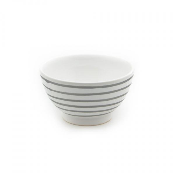 Gmundner Keramik Graugeflammt Müslischale groß (Ø 14cm)