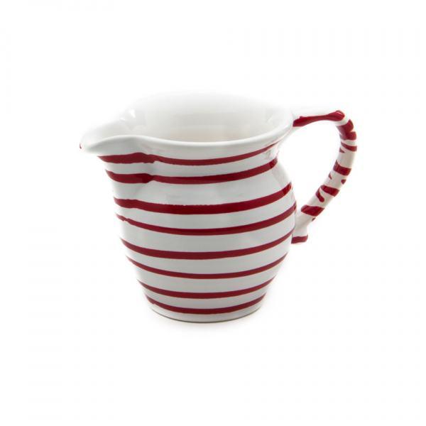 Gmundner Keramik Rotgeflammt Milchgießer glatt 0.3L