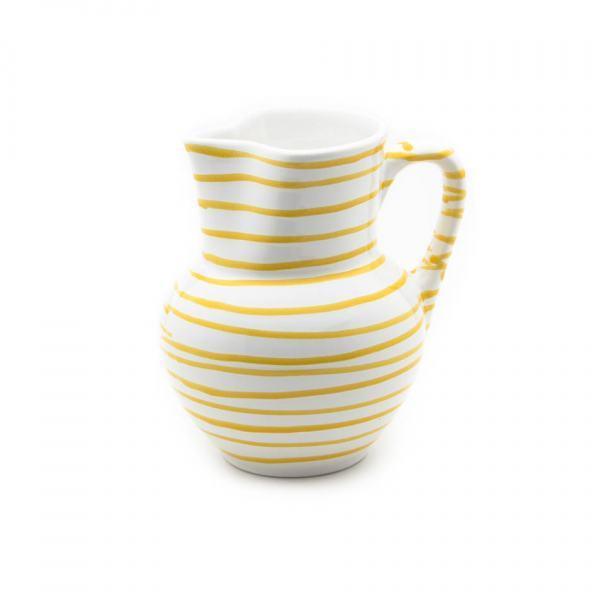 Gmundner Keramik Gelbgeflammt Krug Wiener Form (1L)