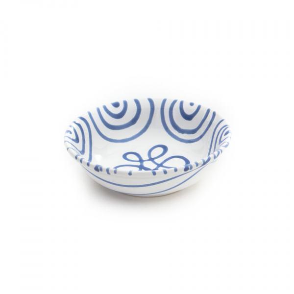 Gmundner Keramik Blaugeflammt Müslischale klein Ø 14cm