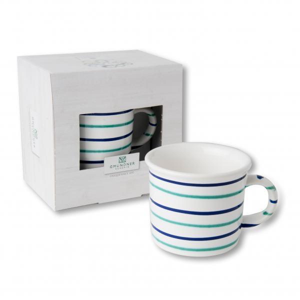 Gmundner Keramik Traunsee Kaffeehäferl (0.24 L)