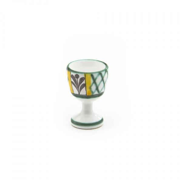 Gmundner Keramik Jagd Eierbecher glatt H: 7.5cm