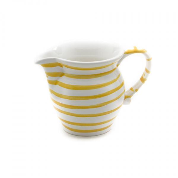 Gmundner Keramik Gelbgeflammt Milchgießer glatt (0.5L)
