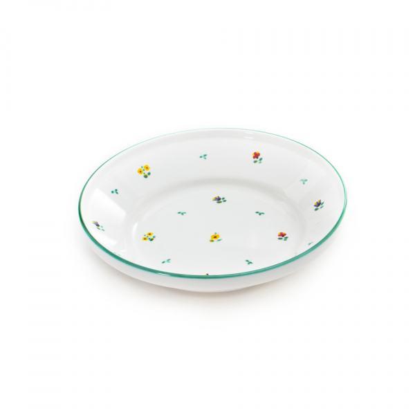 Gmundner Keramik Streublumen Reifschüssel ohne Henkel (Ø 28cm)
