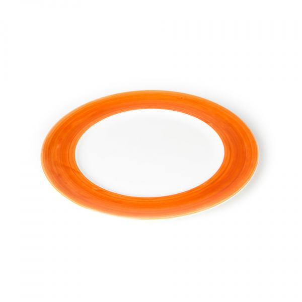 Gmundner Keramik Variation Orange Speiseteller Gourmet (Ø 27cm)