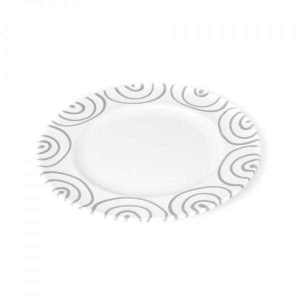 Gmundner Keramik Graugeflammt Speiseteller Gourmet 29cm