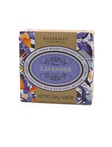 Naturally European Lavender Soap 150g