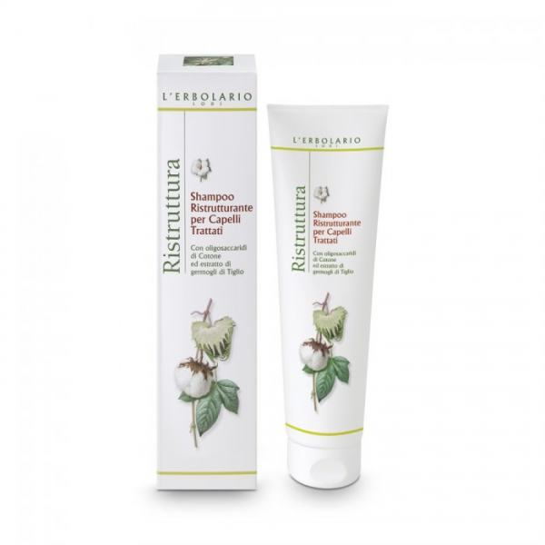 L'erbolario RISTRUTTURA Repair Shampoo für behandeltes Haar 150ml