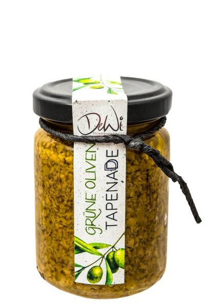DeWi grüne Oliven Tapenade 135g