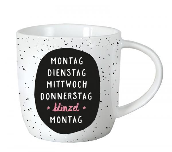 Tasse Vinatage - Montag Dienstag