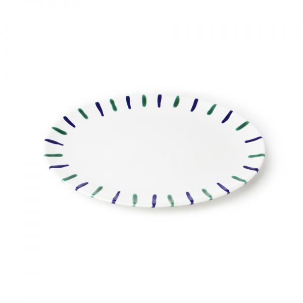 Gmundner Keramik Traunsee Platte oval (33x26cm)