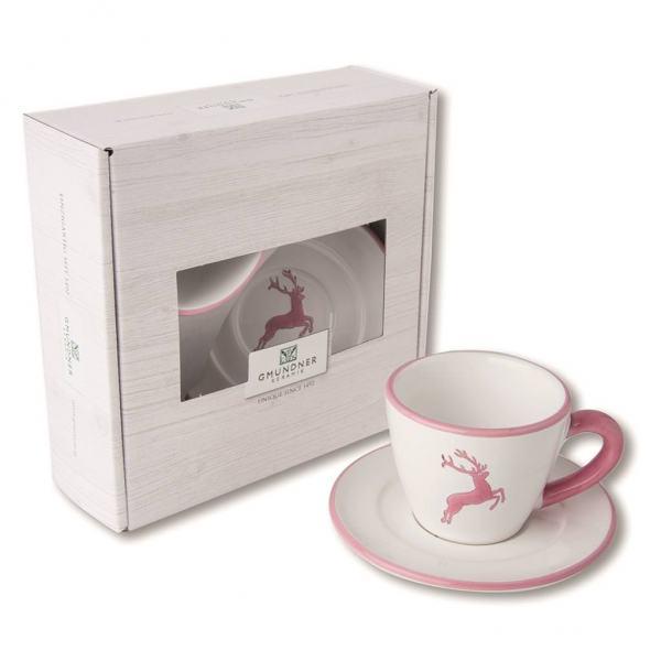Gmundner Keramik Rosa Hirsch Espresso for you