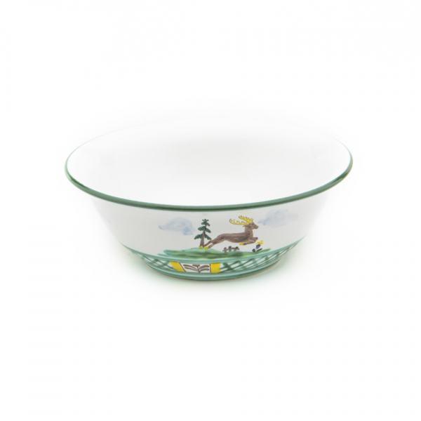 Gmundner Keramik Jagd Salatschüssel (Ø 20cm)