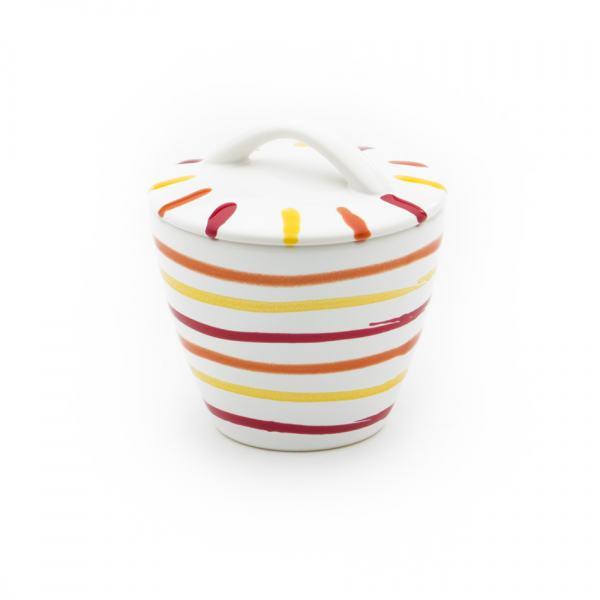 Gmundner Keramik Landlust Zuckerdose Gourmet Ø 9cm