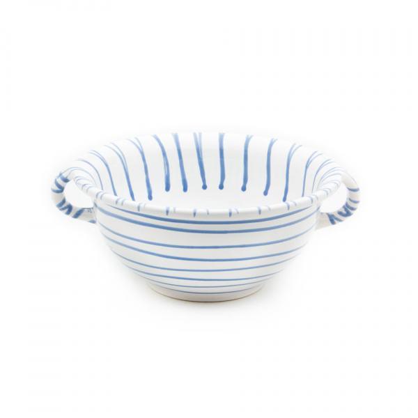 Gmundner Keramik Blaugeflammt Weitling Ø 25cm