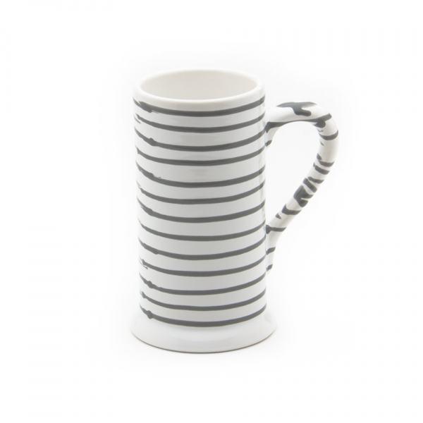 Gmundner Keramik Graugeflammt Bierkrug Form-A 0.5L