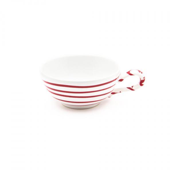 Gmundner Keramik Rotgeflammt Teetasse glatt (0.17L)
