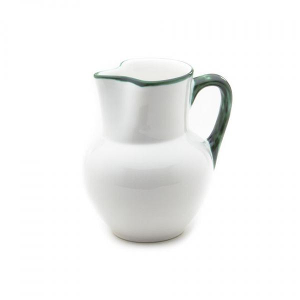 Gmundner Keramik Grüner Rand Krug Wiener Form (1L)