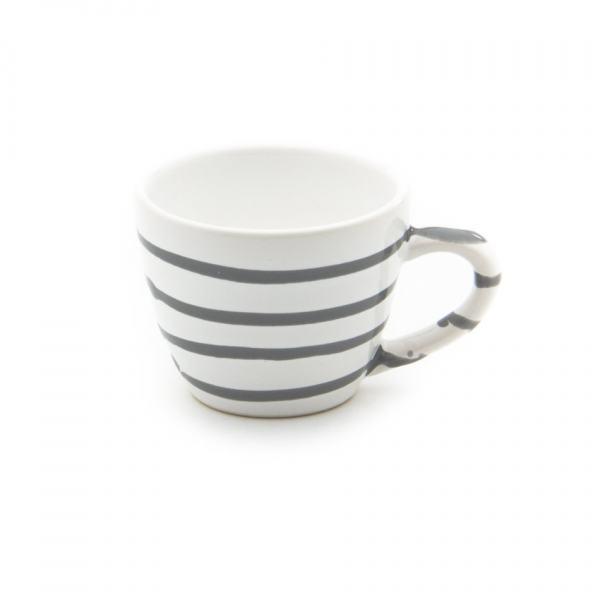 Gmundner Keramik Graugeflammt Espressotasse Gourmet (0.06L)