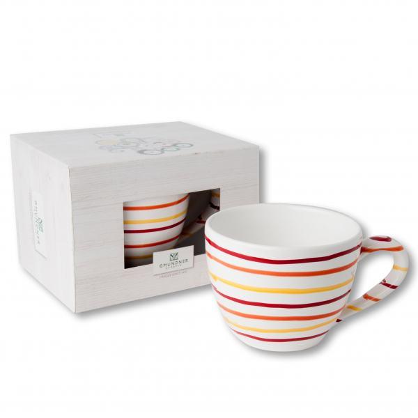 Gmundner Keramik Landlust Teetasse Maxima 0.4 L im Karton