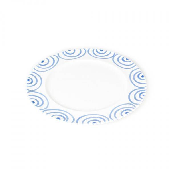 Gmundner Keramik Blaugeflammt Speiseteller Gourmet (Ø 27cm)