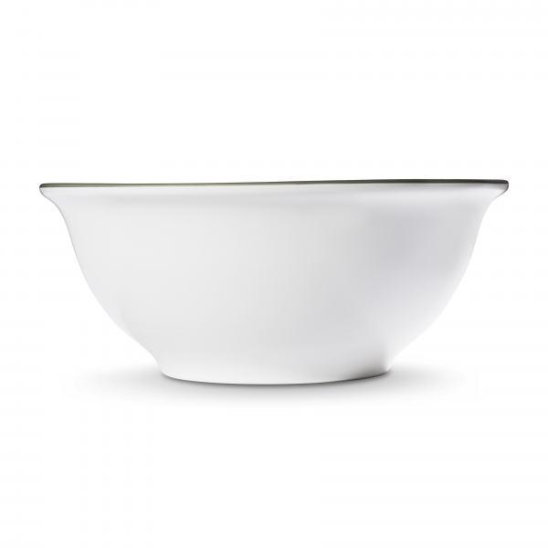 Gmundner Keramik Grauer Rand Salatschüssel Ø 26cm