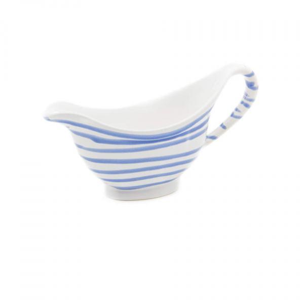 Gmundner Keramik Blaugeflammt Sauciere (0.2L)