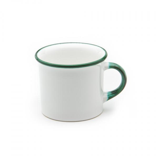 Gmundner Keramik Grüner Rand Kaffehäferl 0.24L