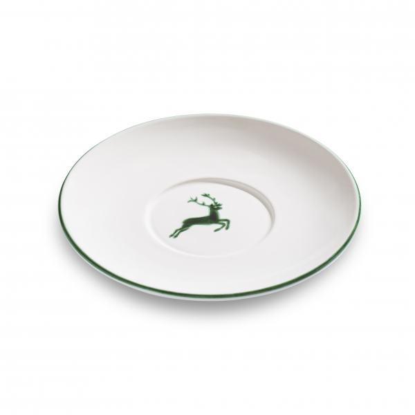 Gmundner Keramik Grüner Hirsch Untert. Teetasse Maxima Ø18cm