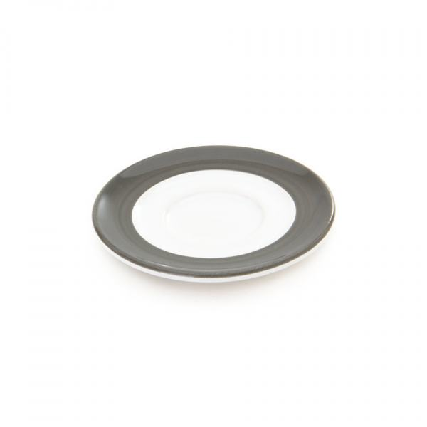 Gmundner Keramik Variation grau Unterteller Espresso Gour. (Ø11cm)