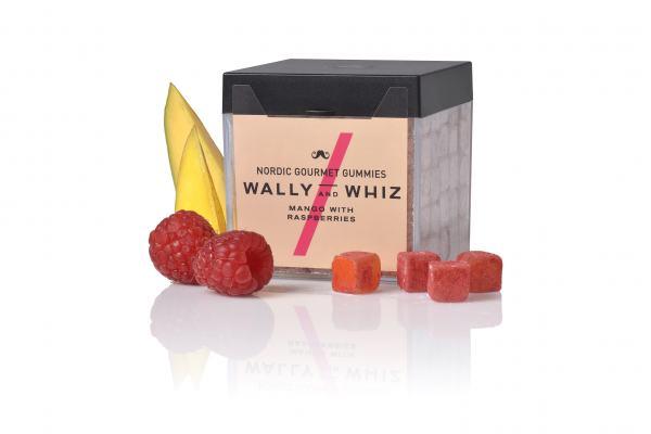 Weingummis Wally & Whiz Mango mit Himbeere 150g