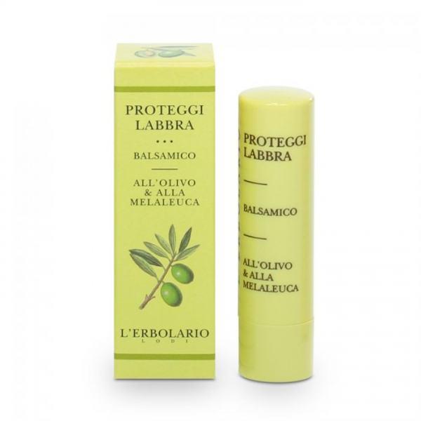 L'erbolario Lippenschutzbalsam (Oliven-, Teebaumöl) 4,5ml