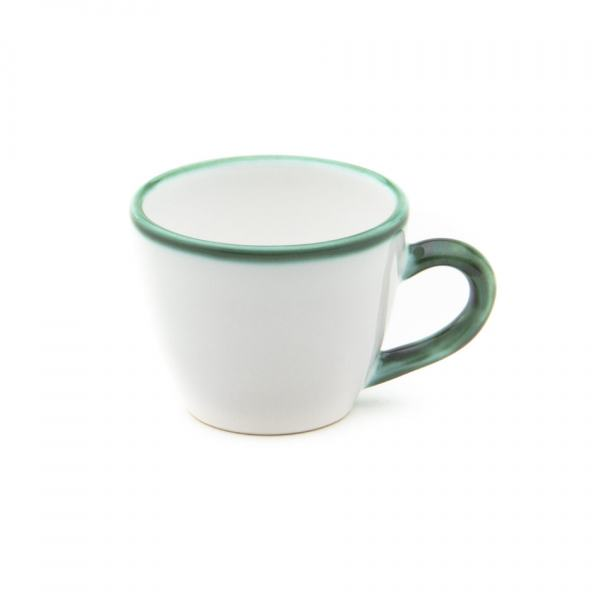 Gmundner Keramik Grüner Rand Espressotasse Gourmet (0.06L)