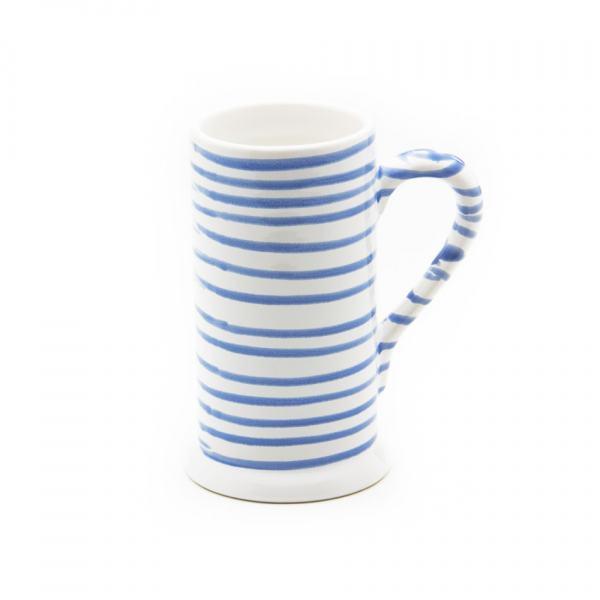 Gmundner Keramik Blaugeflammt Bierkrug Form-A (0.5L)