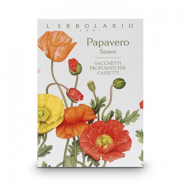L'erbolario PAPAVERO SOAVE Duftsachet für Schubladen