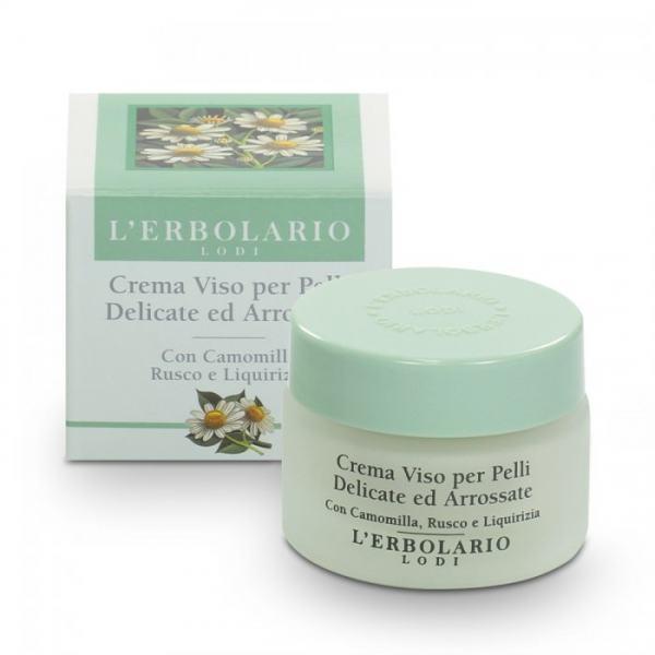 L'erbolario Creme empfindliche Haut: Kamille, Stachelmyrte und Süßholz